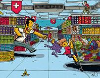 Supermarket Mess