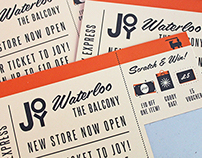 Joy Waterloo Scratchcards