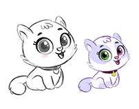 Cutie Miskhi- Character Design