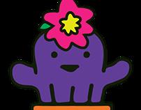 character design based on tamagotchi