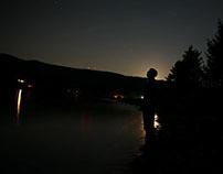 Très clair de lune à Baie St Paul