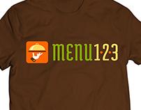 Menu 123 Logo