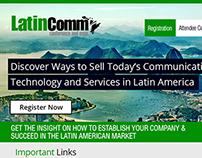 LatinComm Expo Redesign