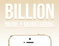 Billion — iOS Money Monitoring App (UI/UX)