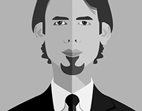 Face Flat Illustration