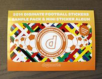 Football Sticker Album direct mail campaign