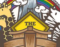 NOAH'S ARK T-shirt illustration