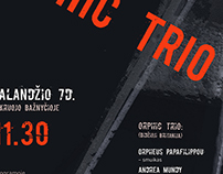 Poster for ORPHIC TRIO