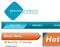 Jazeera Airways Portal Design & Advertising - Kuwait