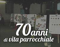 70 anni di vita parrocchiale | 70 years of parrish