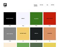 spices branding website