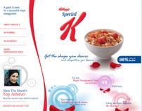 Special K inspirational microsite - Kellogg's, GCC