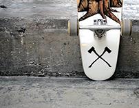 ReSKATE PROJECT | skateboard illustration