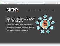 ChimpMarketing - Homepage Design