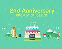 BAND App 2nd Anniversary - Promotion