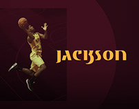 Branding Jackson 13 - Basketball Player