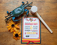 Maryland Engagement Invitation