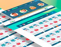 UI/UX design kindium