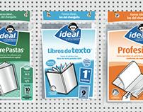 Ideal / Rediseño de logotipo y línea de productos