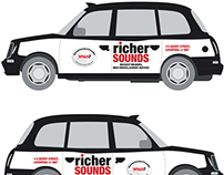 Richer Sounds Black Cab Advertisement