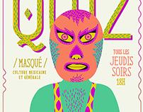 Lucha Libre Quiz / Poster