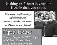 Midland Lutheran College iMpact Advertisements, 2007