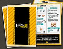 Yaku mikuna: cartilla menú