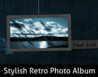 Stylish Retro Photo Album