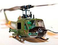 Flying Airfix Model