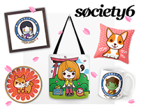 My Society6 shop!