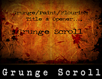 Grunge Scroll