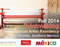 Arquetopia Printmaking Special Residency Fall 2014