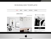 Minimalism - Premade Blogger Template