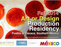 Arquetopia Art or Design Production Residency Fall 2014