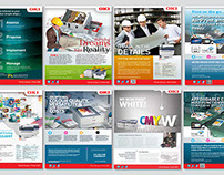 Full/Double page print ad campaigns