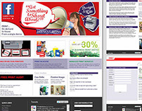 Eshot campaign micro-site landing page for SMBs