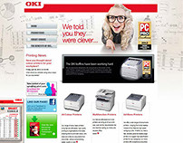 Email campaign project, landing micro-site, webdesign