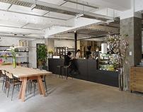 zagmachi - cafe, lighting design lab, exhibition space