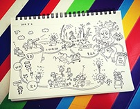 Travel Sketches in TOHOKU