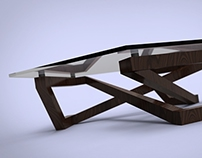 Xagonal coffee table