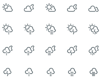 Weather Outline Icons