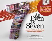 TNT Magazine 7th Anniversary Issue Design