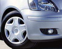 Toyota Yaris Wheel Trim (2003)