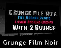 Grunge Film Noir
