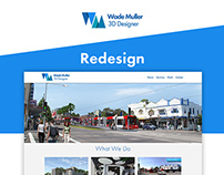 Wade Muller Digital - Redesign