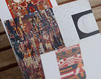 Einladungskarten in die Galerie berber.arts 2011/2012