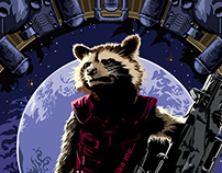 Guardians of the Galaxy Character Posters