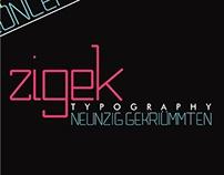 Zigek Typography