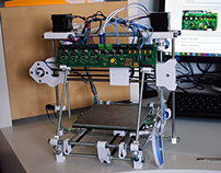 Reprap Huxley 3D Printer