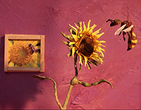 Flower and the Bee (Stopmotion)